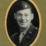 Tom Verrill, 2nd Lt, at beginning of WWII, age 31